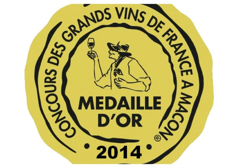 MEDAILLE D'OR MACON 2014